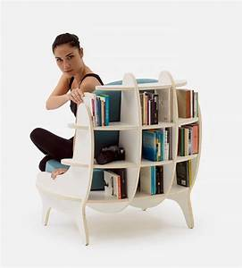 Comfy, Chair, With, Built