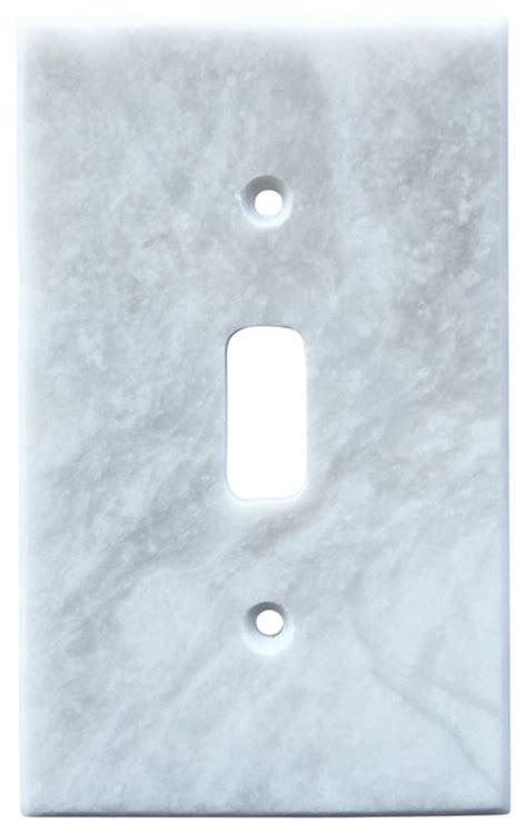 marble outlet covers white marble meram blanc switch plate cover toggle 2 75 quot x4 5 quot traditional switch plates and