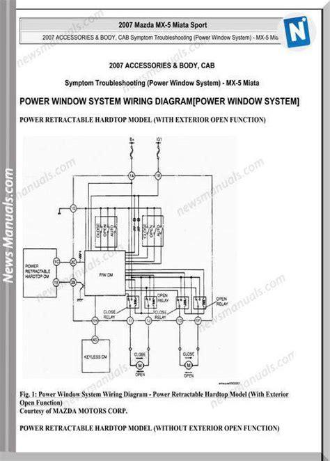 Mazda Miata Sport Wiring Diagram
