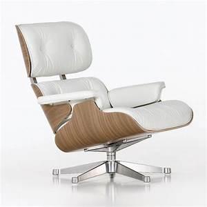 Eames Chair Lounge : eames lounge chair white ~ Buech-reservation.com Haus und Dekorationen