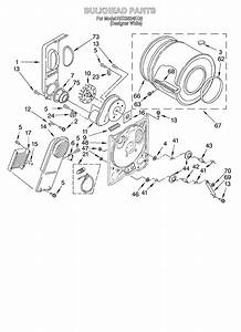 Roper Rex5634kq0 Dryer Parts