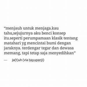 25+ ide terbaik Quotes bahasa indonesia di Pinterest
