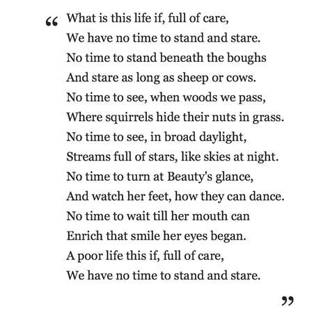 leisure poem