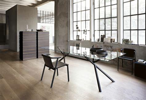 plateau de verre bureau le plateau de bureau en verre pour votre office à la