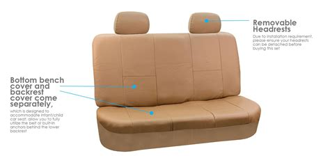 Fh-pu001 Pu Leather Car Seat Covers Solid