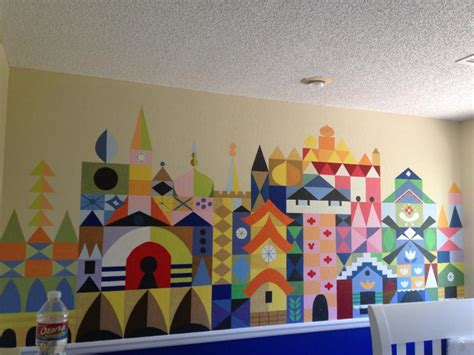 disney murals for nursery its a small world disney baby nursery wall interior design ideas