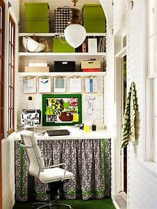 small space home office the inspired room With small home office organization ideas