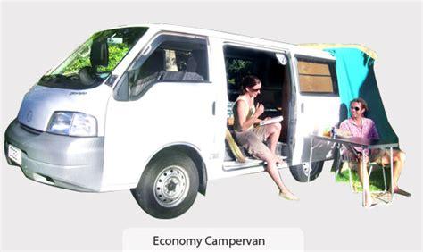 Economy Campervan from Hokianga Camper Van New Zealand