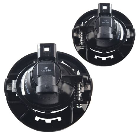 chrysler  replacement fog lights clear