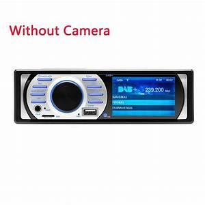 Bluetooth Car Radio Din 1 - Usb Aux Fm Mp3 Mp5 Dab