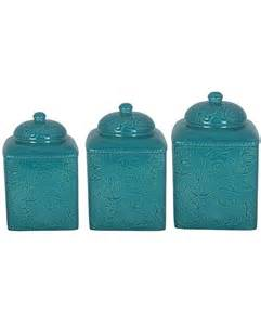 Decorative Kitchen Canisters Sets 21 Teal Kitchen Canister Sets House Decor Ideas