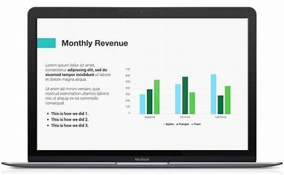 Meeting Board Presentation Revenue Template Monthly Templates