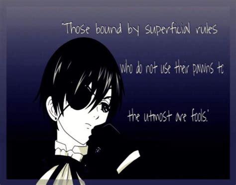 theotakunetwork top  ciel phantomhive quotes anime amino
