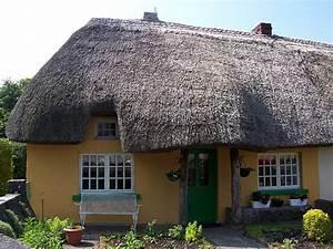 photo adare maison au toit de chaume vue 3 With maison toit de chaume