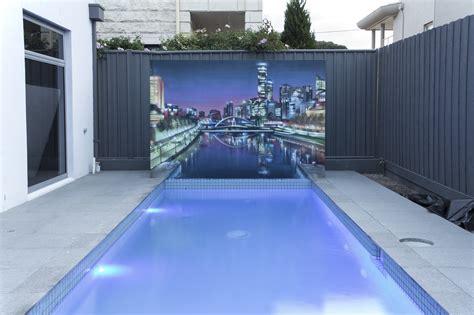 graffiti artist melbourne poolside wall art