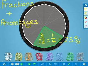 Fraction Graph Chart Fractions Decimals And Percentages Games For Ks2 Games