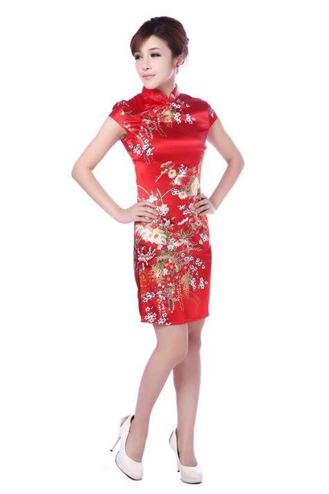 sleeve printed cheongsam 2015 cheongsam dress vintage printed