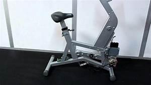 Life Fitness Lifecycle 95ci Upright Exercise Bike