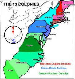 13 Original Colonies Map Worksheet