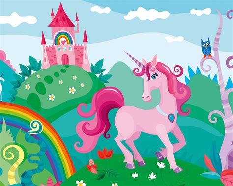 Livingwalls Photo wallpaper Pink Unicorn 471928