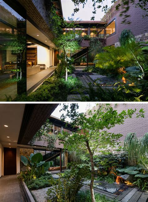 Casa Surrounded By Nature by This Contemporary House In Mexico Is Surrounded By Nature