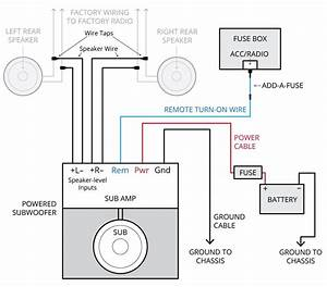 Alpine Car Audio Sub Wiring Diagram