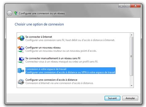 configurer bureau à distance windows 7 configurer un vpn sous windows 7 et vista clubic