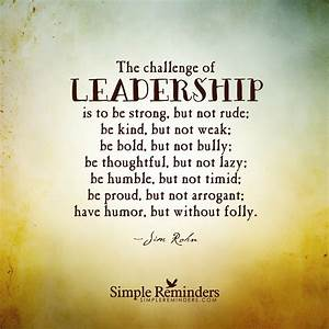 Quotes about Leadership challenges (25 quotes)