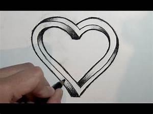 Zeichnen Lernen Mit Bleistift : wie zeichnet man ein d herz mit bleistift online zeichnen lernen ich liebe wasser ~ Frokenaadalensverden.com Haus und Dekorationen