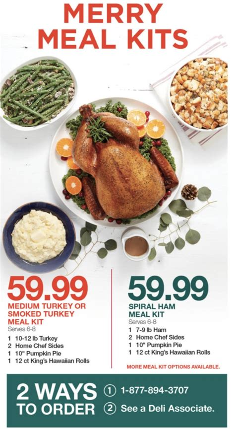 Home chef brings with it national our christmas meal bundles contain everything you need for the perfect christmas dinner or lunch and come with a timings card to help your. Kroger Christmas Meals To Go - Top 30 Kroger Thanksgiving Dinner - Best Diet and Healthy ... : A ...