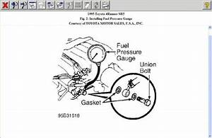 1995 Toyota 4runner Fuel Pump Wiring Harness  Whers Is The