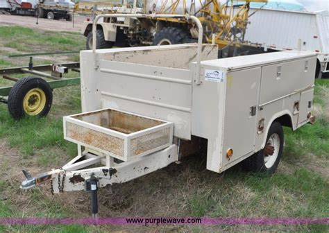 Stahl Utility Bed by Ag Equipment Auction In Julesburg Colorado By Purple Wave