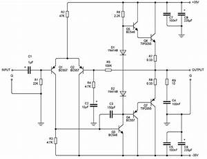 75w Transistor Audio Amplifier