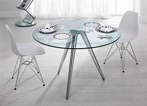 Petite Table En Verre : petite table en verre maison design ~ Teatrodelosmanantiales.com Idées de Décoration