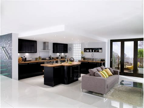 ikea cuisines 3d cuisine design noir et bois