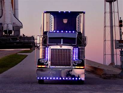 Optimus Peterbilt Semi Prime Tractor Wallpapers Transformers