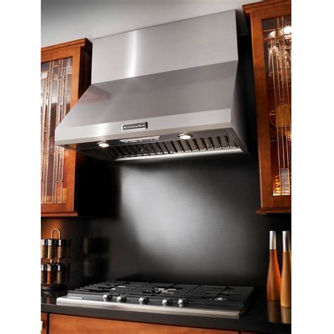 """KitchenAid KXW8736YSS 36"""" Commercial Style Wall Mount"""