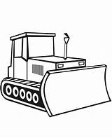 Coloring Bulldozer Digger Construction Pages Drawing Craft Moving Parts Simple Work Template Sketch Truck Print Tractor Sketchite Vehicles Sheet Templates sketch template