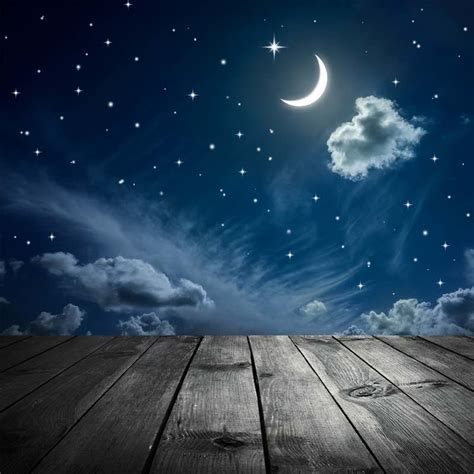 buy background photography blue sky moon