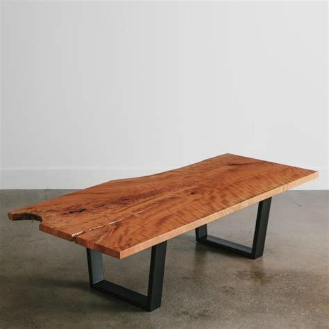 cherry coffee table elko hardwoods modern  edge