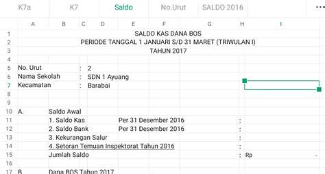 00 upvotes, mark this document as useful. Download Aplikasi Laporan Pertanggungjawaban BOS K7a dan ...