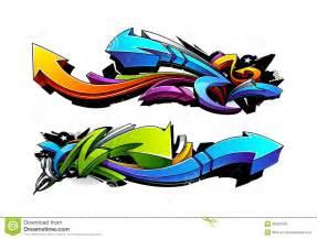 Graffiti Arrow Design