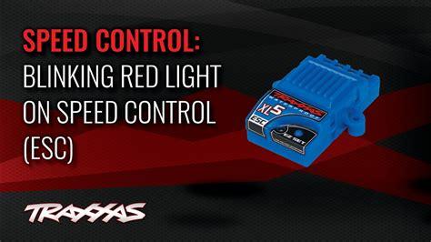 Blinking Red Light On Speed Control (esc)