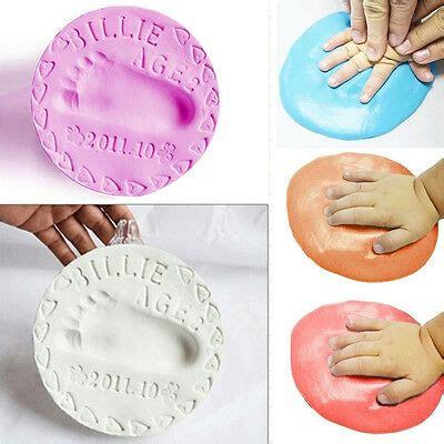 farbe für gips 1paket baby 3d gips abdruck handabdruck fu 223 abdruck abform