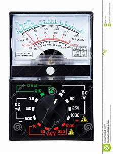Analog Multimeter Stock Photo  Image Of Voltage