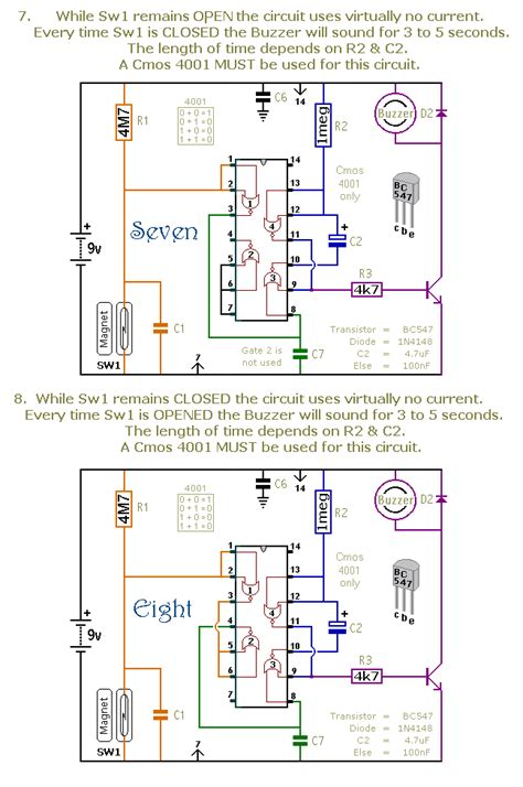 How Build Dozen Small Cmos Alarm Circuits Circuit
