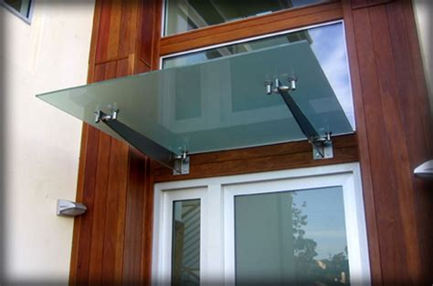 Glass Awning Residential - dac architectural glass canopies translucent awnings