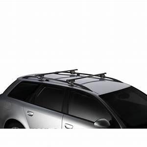 Barre En Acier : 2 barres de toit compl tes thule smartrack 785 en acier ~ Medecine-chirurgie-esthetiques.com Avis de Voitures