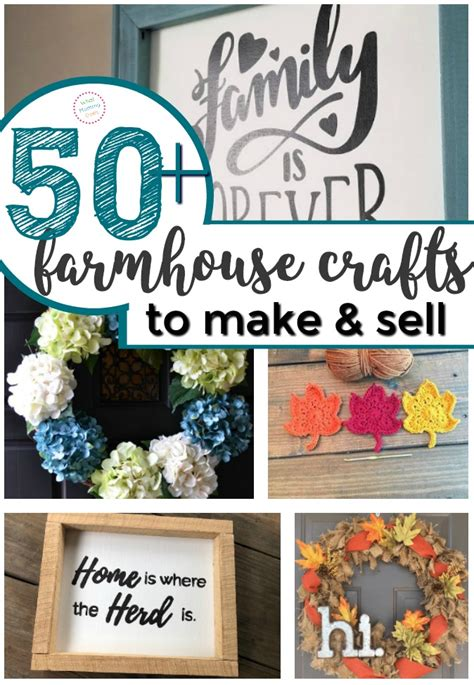 farmhouse crafts    sell  flea markets