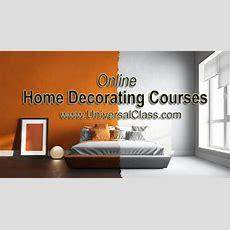 Online Home Decorating Courses  Universalclass
